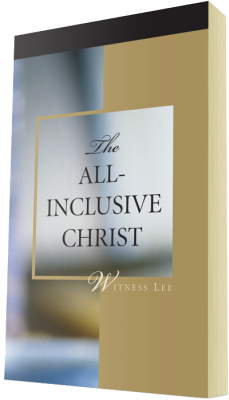 Free Christian book - The All-Inclusive Christ