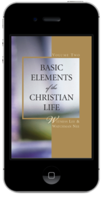 Free Christian book - Basic Elements of the Christian Life, Volume Two
