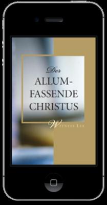 Kostenfreies christliches Buch - Der Allumfassende Christus