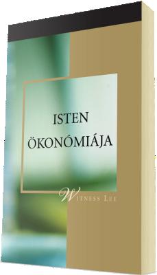 Ingyenes keresztyén könyv - Isten ökonómiája