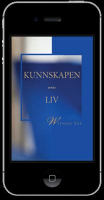 Gratis kristen bok - Kunnskapen om liv