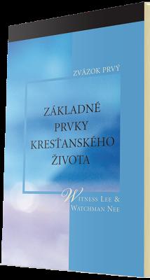 Kresťanská kniha zdarma - Základné prvky kresťanského života, prvý zväzok