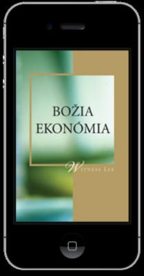 Kresťanská kniha zdarma - Božia ekonómia