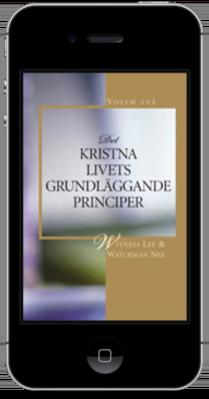 Gratis kristna böcker - Det kristna livets grundläggande principer, volym två